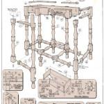 Gate-leg table 4